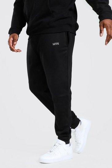 Black Plus Recycled MAN Dash Slim Fit Jogger