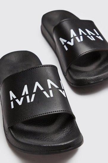 Black MAN Dash Sliders