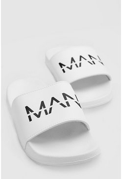 Chanclas MAN, Blanco