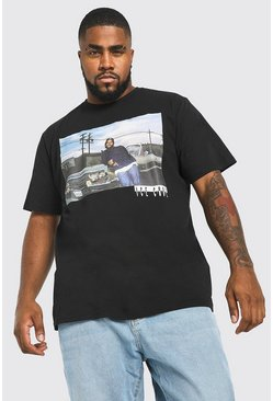 Black Big And Tall Ice Cube License T-Shirt