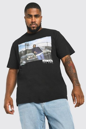 Black Plus Size Ice Cube License T-Shirt