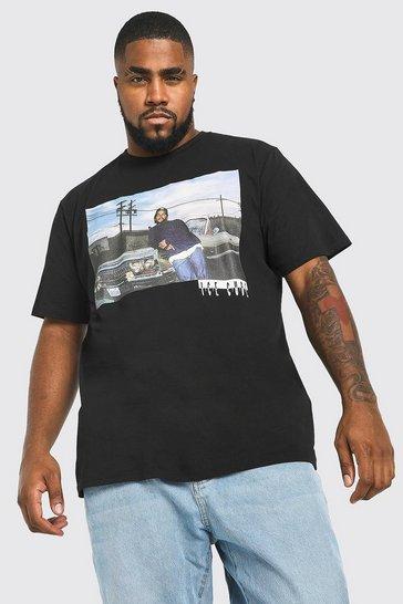 Black Plus Size Ice Cube License T-Shirt