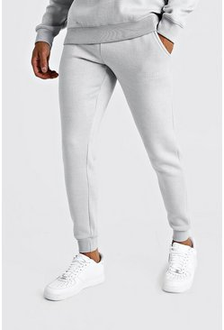 Light grey grå MAN X Abode Skinny Fit Jogger