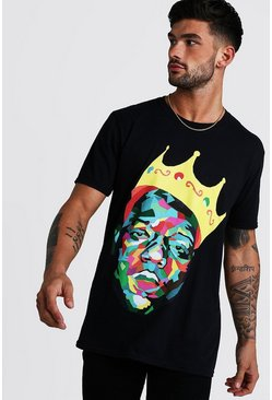 Black Biggie Crown License T-Shirt