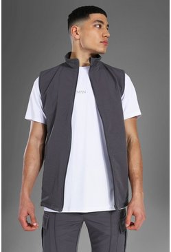 Grey Man Active Nylon Fitted Gilet