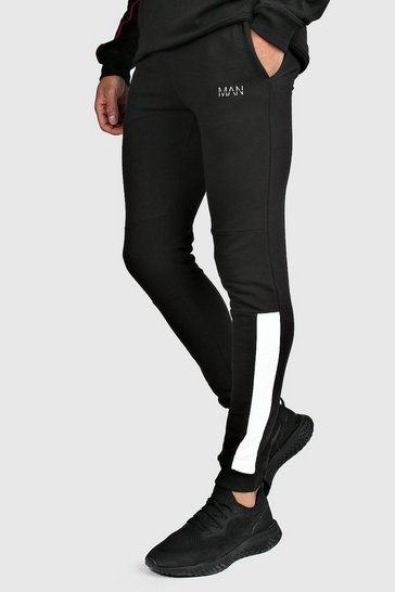 Black MAN Active Skinny Fit Joggers