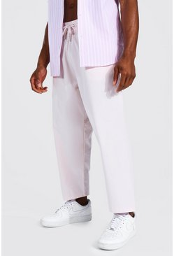Pale pink pink Relaxed Fit Chino Trouser