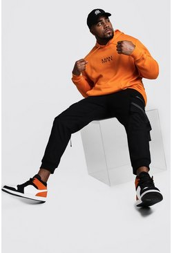 Orange Plus Size MAN Dash Hoodie
