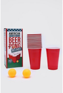 Beer Pong Game, Red Красный