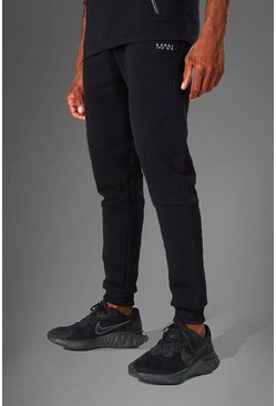 Black MAN Active Skinny Fit Jogger