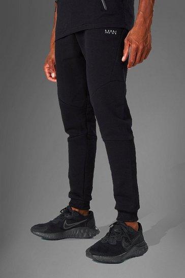 Black MAN Active Skinny Fit Jogger