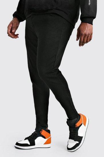 Black Plus Size Super Skinny Jeans