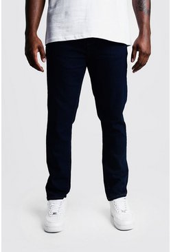 Indigo blue Big & Tall Skinny Fit Jeans