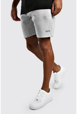 Grey marl grey Original MAN Relaxed Fit Jersey Shorts