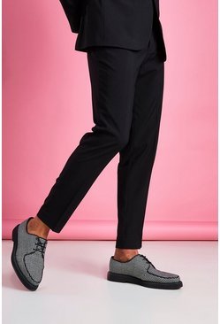 Slim Fit Trouser, Black nero