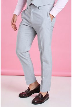 Grey Slim Fit Trouser