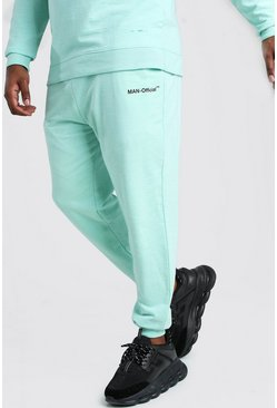 Mint green Plus Size MAN Official Heavyweight Jogger