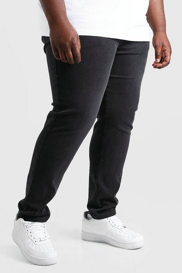 Charcoal grey Plus Size Skinny Jeans