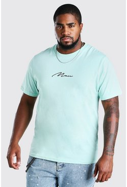 Mint Big And Tall MAN Signature T-Shirt