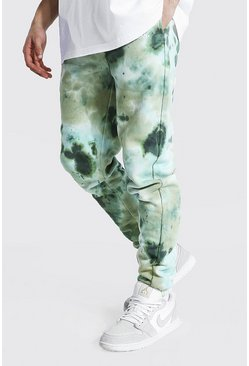 Khaki Regular Man Official Tie Dye Joggers