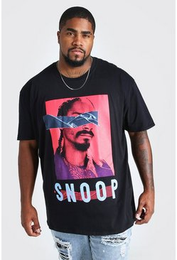 Black Plus Size Snoop License T-Shirt