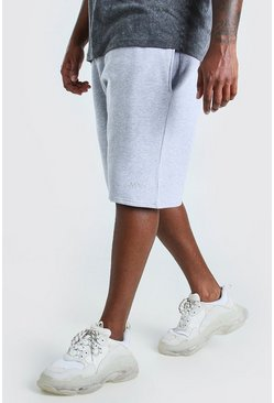 Grey marl grey Big And Tall MAN Basketball Jersey Short