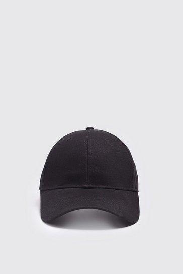 Black MAN Official Back Print Cap
