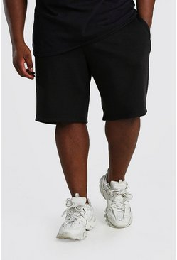 Black Big And Tall MAN Dash Basketball Short