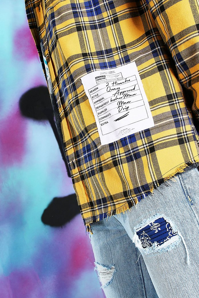 X-Future Mens Short Sleeve Hoodie Button Up Plaid Print Summer Checkered Shirt