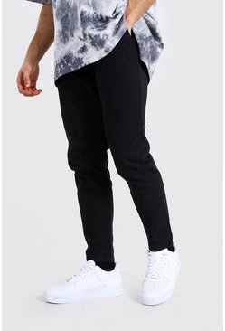 Black Slim Fit Chino Trouser