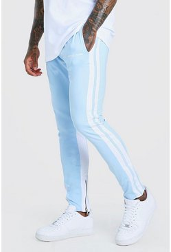Powder blue blue Official MAN Regular Fit Tricot Jogger