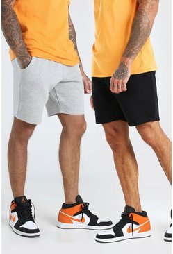 Multi 2 Pack Mid Length Short