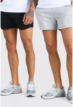 Lot de 2 shorts courts, Multi