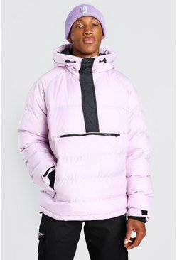 Lilac OVERHEAD PADDED PUFFER