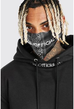 Black MAN Official Bandana Fashion Mask