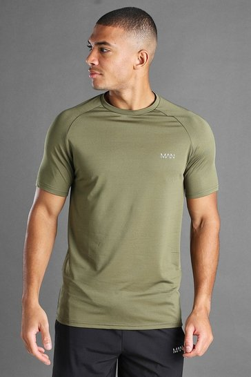 Khaki MAN Active Raglan T-Shirt