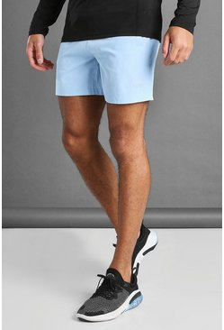 Blue MAN Active Shorts With MAN Waistband Detail