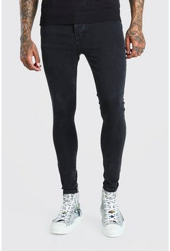 Charcoal grey Spray On Skinny Jeans