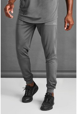 Charcoal MAN Skinny Jogger With Seam Detail