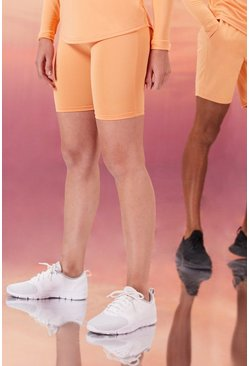 Peach orange Hers Active Cycling Shorts