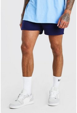 BASIC SHORT LENGTH JERSEY SHORT, Navy Тёмно-синий