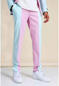 Skinny Cb Suit Trousers, Multi