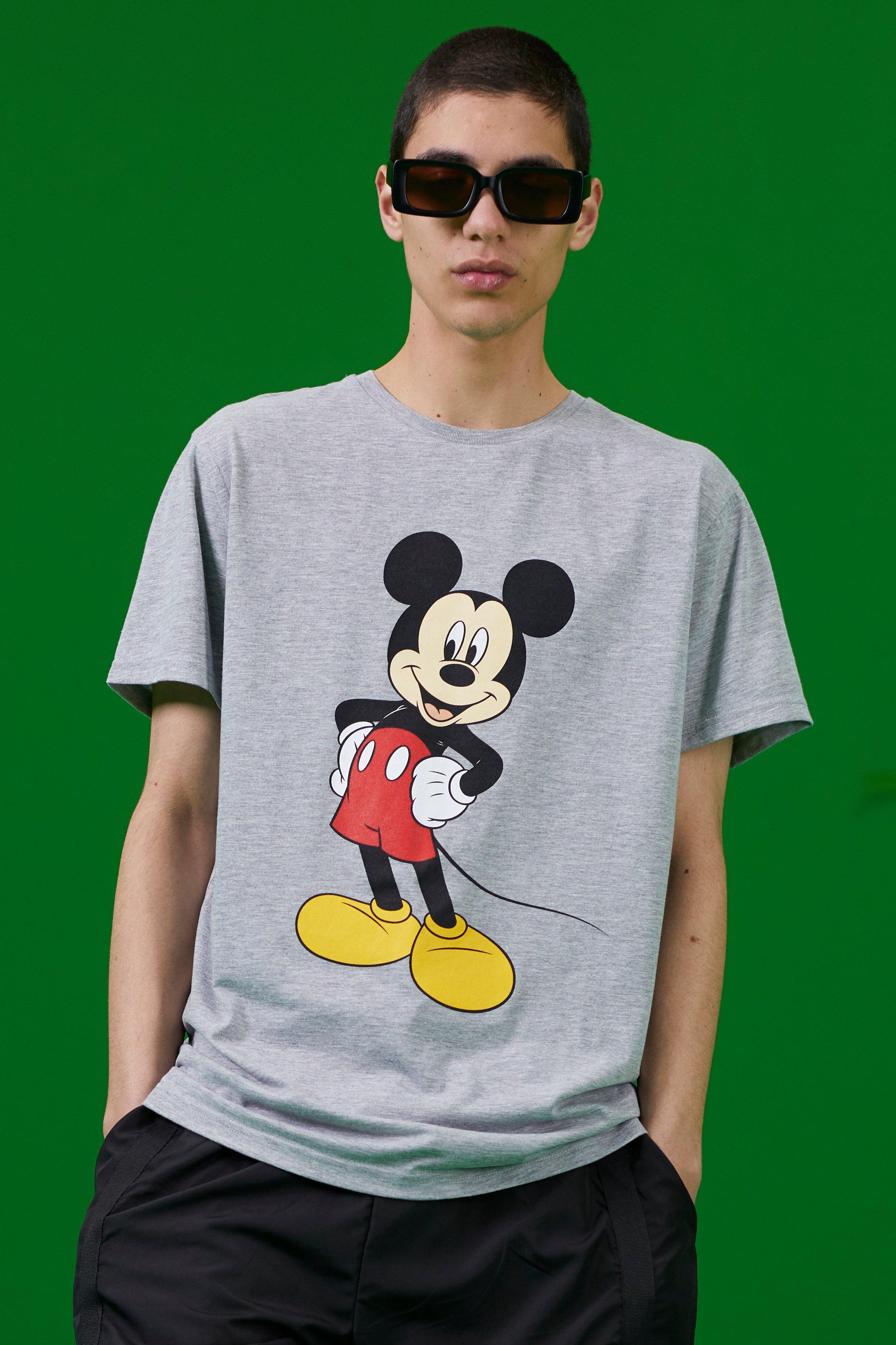 SALE Disney Mickey Print T-Shirt