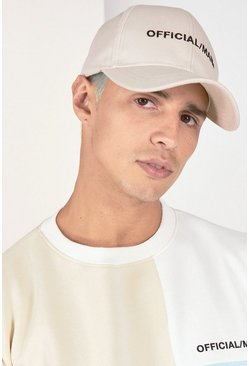 Stone MAN Official Branded Curve Peak Cap