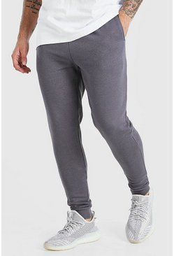 Charcoal Skinny Fit Joggers