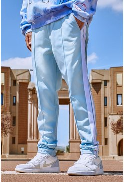 Powder blue Original MAN Tricot Jogger With Side Tape