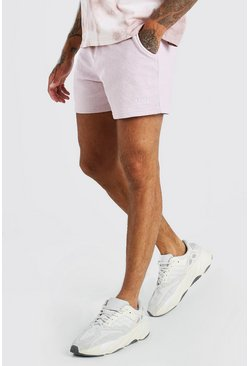 Mauve Original MAN Short Length Pigment Wash Jersey Short