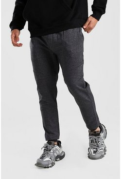 Charcoal grå Basic Joggers i skinny fit