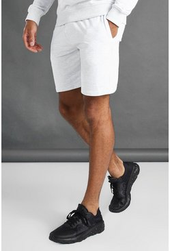 Ecru white MAN Gym Shorts