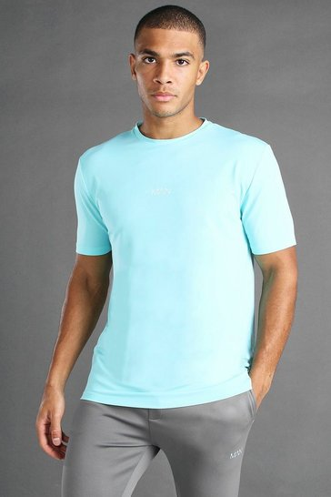 Pale blue MAN Active T-Shirt